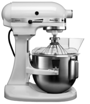 Миксер KitchenAid 5KPM5EWH фото в Санкт-Петербурге