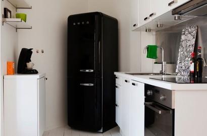 Холодильники черные фото